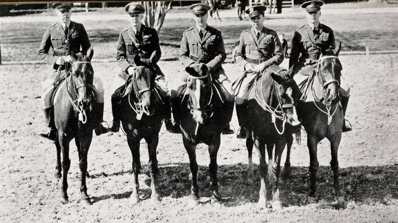 Officers of the 108th Cavalry