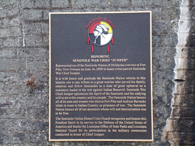 "Seminole War Chief ""Jumper"""