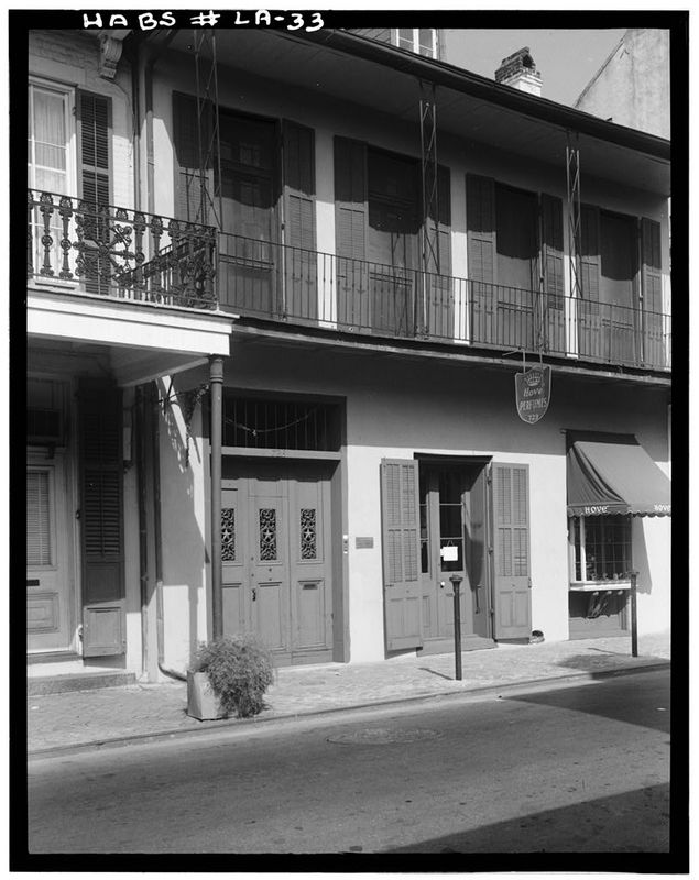 722 Toulouse Street, 1959