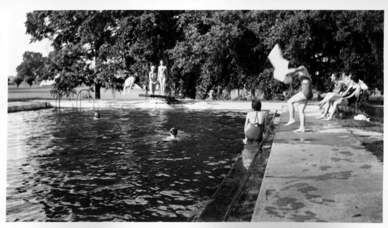 Staff Swimming Pool: The National Leprosarium. Image Courtesy of the National Hansen's Disease Museum, Permanent Collection. Carville, LA.