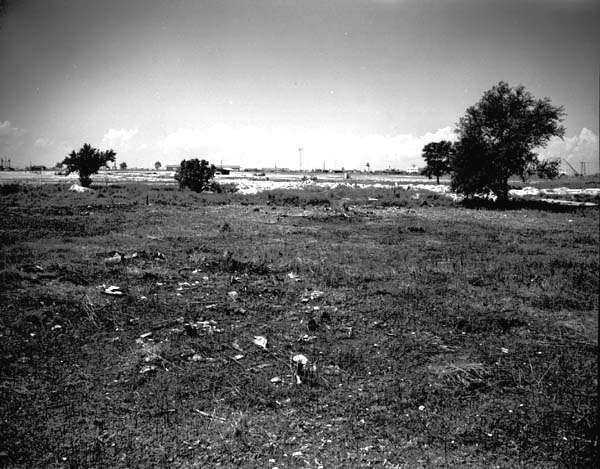 Naval Air Base before runway was built in 1941