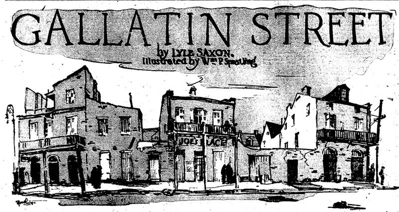 Last Decades of Gallatin Street