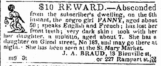"""Runaway Ad for Fanny"""
