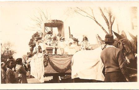 King's Float, Krewe of Carrollton, 1936