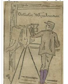 """Artistic Wheelman"""