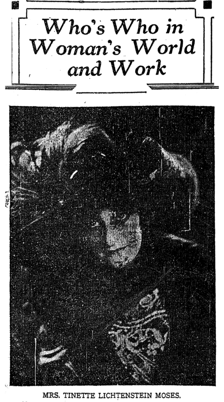 Picture of Tinette Lichtenstein. &lt;br /&gt;<br />