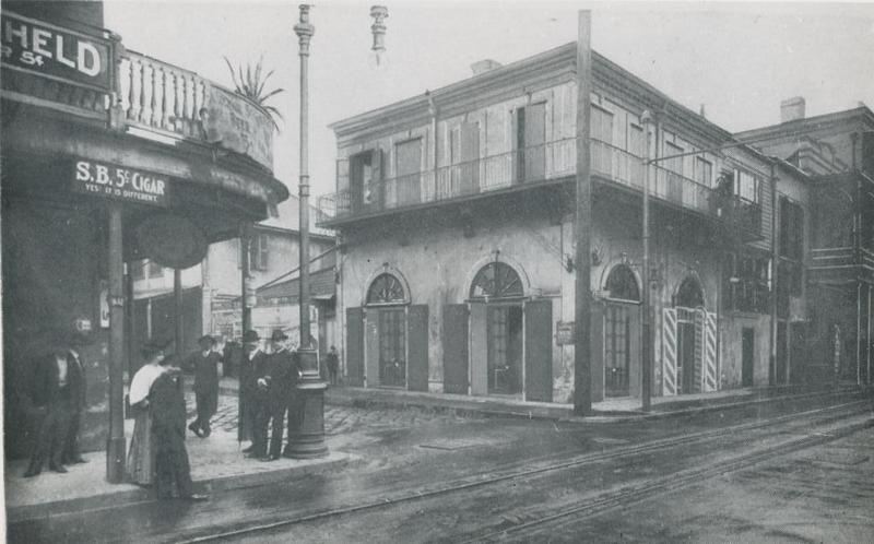 The Old Absinthe House, 1909