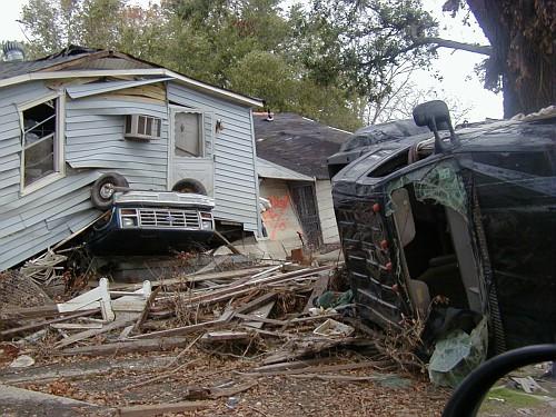 Devastation in Lower Ninth Ward