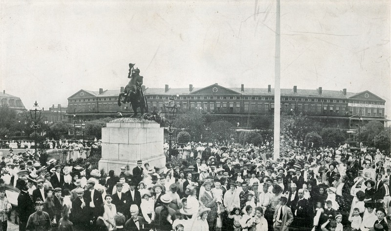 Celebration of the Centennial of the Battle of New Orleans, 1915