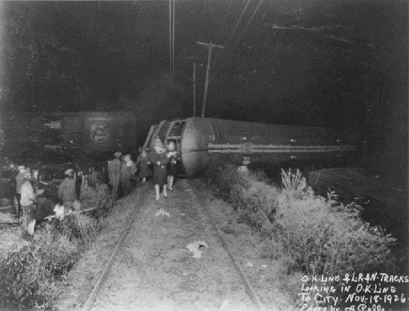 O-K Line / L. R. & N. Wreckage
