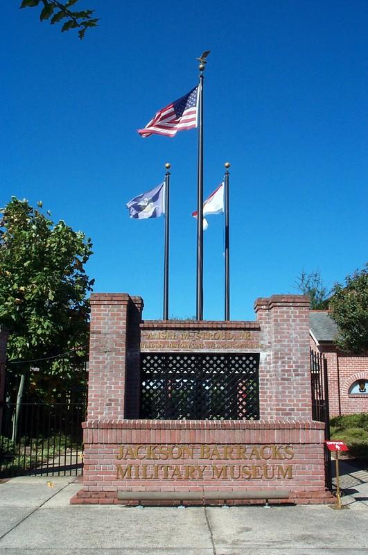Museum entrance, pre-Katrina