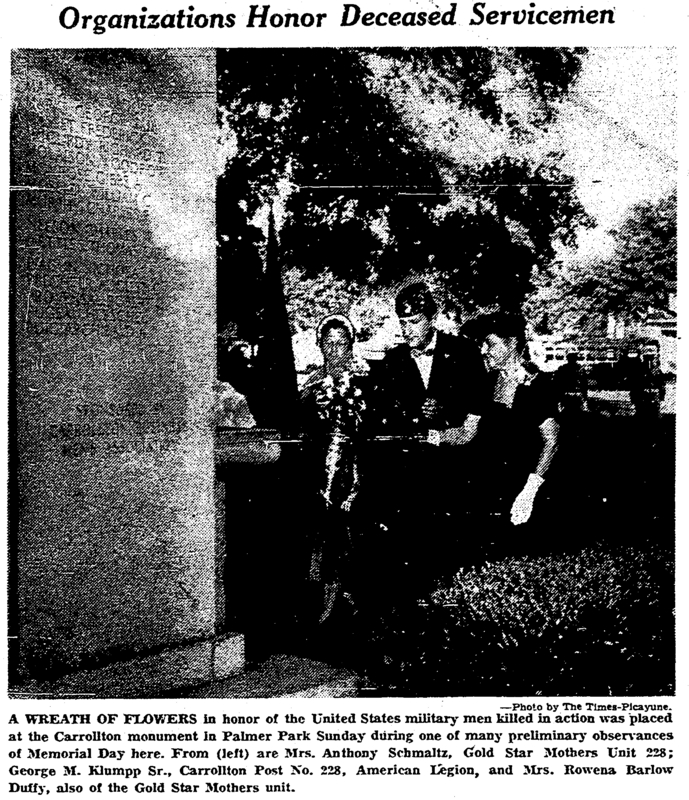 Memorial Day 1955 Palmer Park. &lt;br /&gt;<br />