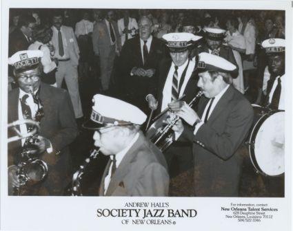 Andrew Hall's Society Jazz Band, circa 1970s