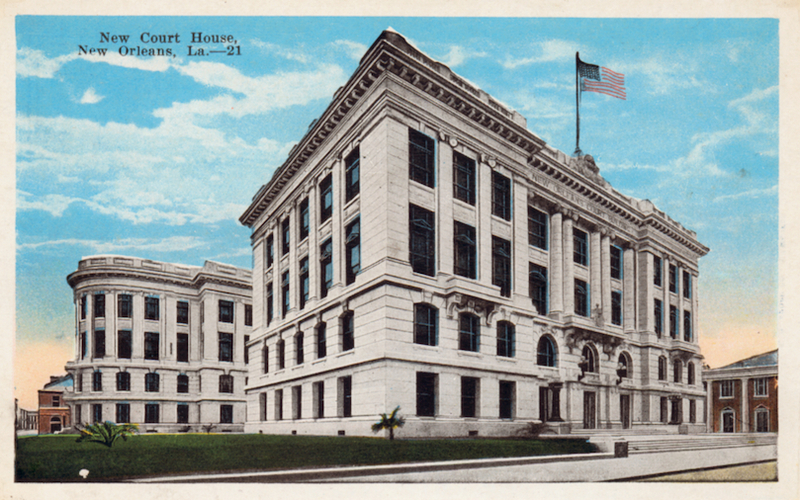 Supreme Court Building, Early 1900s