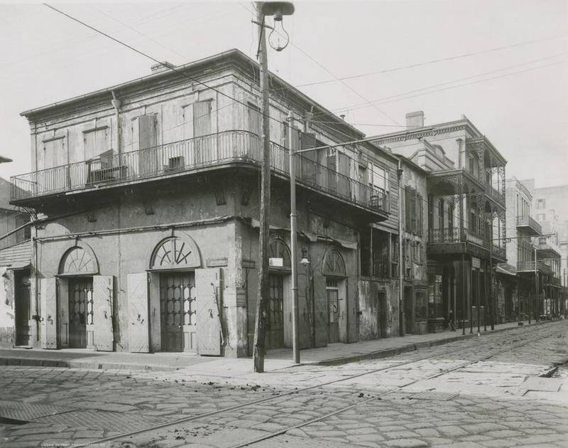 The Old Absinthe House, 1900