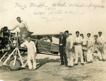 One of Wedell's Racing Planes