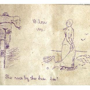 Illustration Concerning an Excursion to Biloxi, 1891
