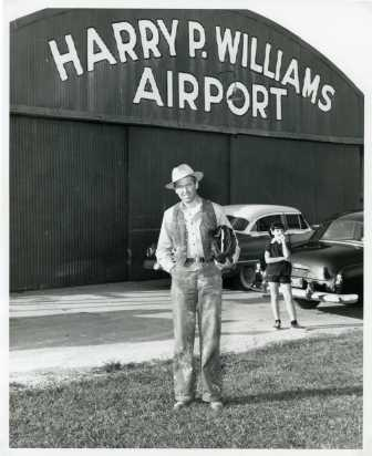 Hollywood Comes to the Harry P. Williams Airport