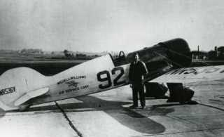1932 Bendix-Winner Jimmy Haizlip and the #92