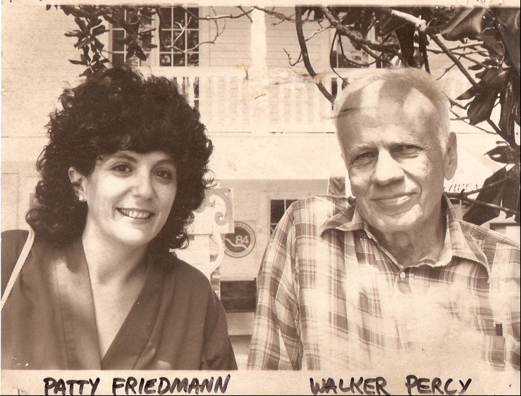 Patty Friedmann and Walker Percy, mid-1980s