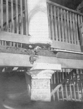 After Termite Infestation, Residence, Jackson Barracks