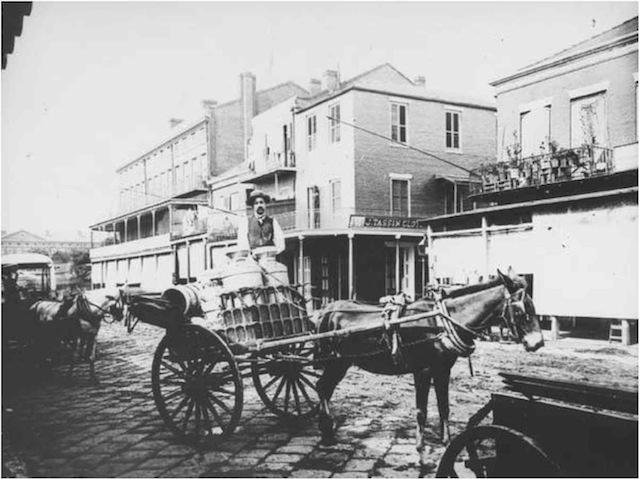 Milk Wagon, circa early 1900s