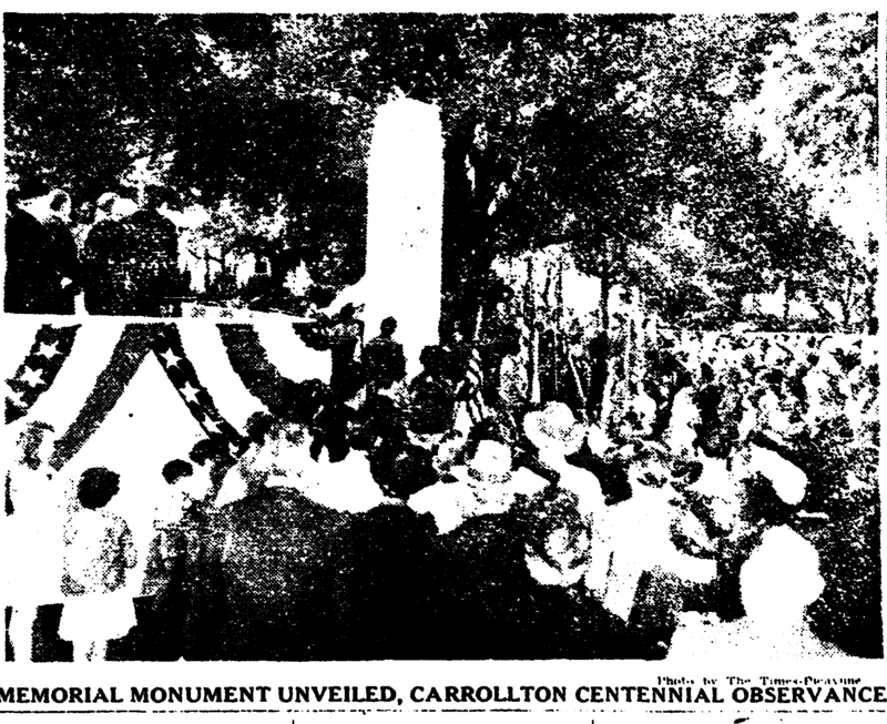 WWII Memorial, Palmer Park, Dedicated March 11, 1945. &lt;br /&gt;<br />