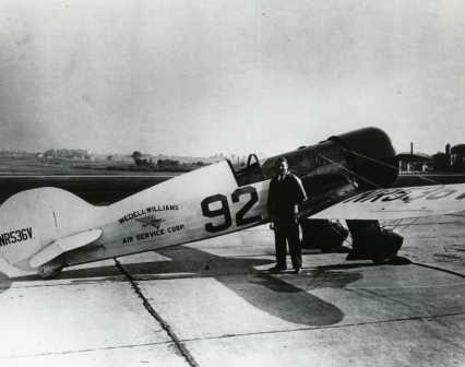 1932 Bendix winner Jimmy Haizlip and the #92