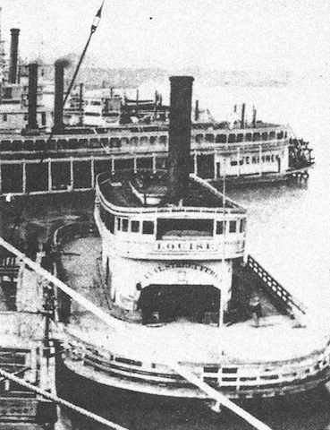 Canal Street Ferry, Louise, 1878