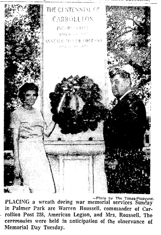 Memorial Day 1967 Palmer Park. &lt;br /&gt;<br />