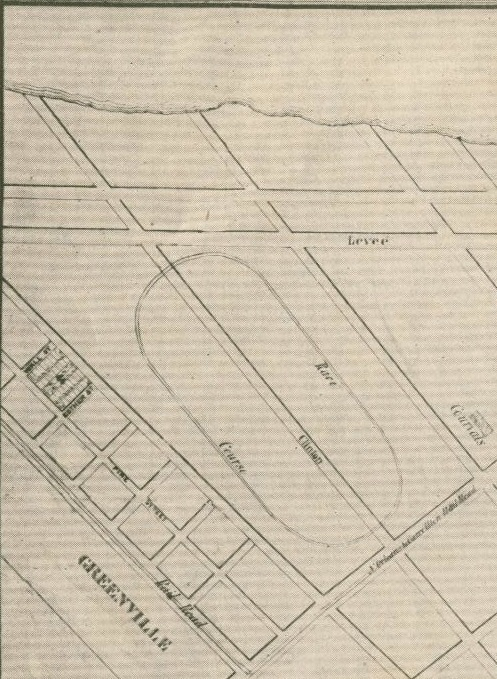Eclipse Race Course, circa 1845