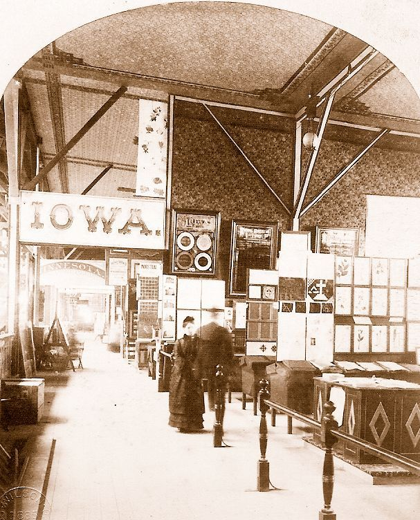 Iowa Educational Exhibit