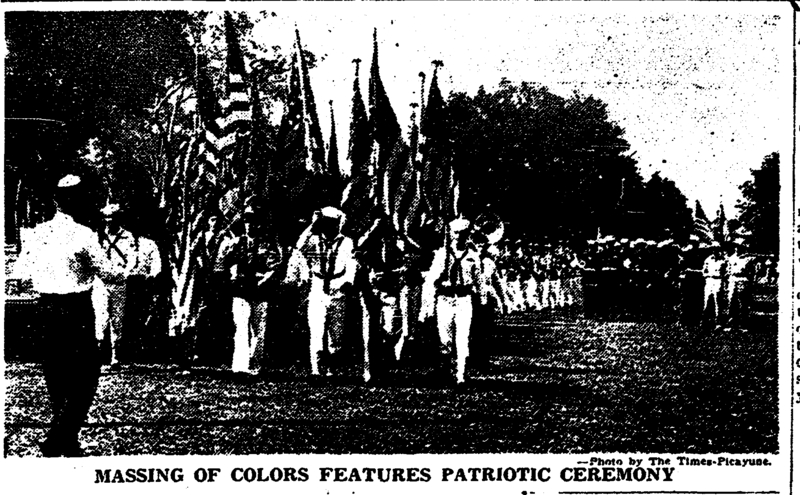 Memorial Day Parade 1950. &lt;br /&gt;<br />