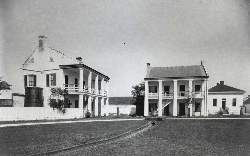 Officer's quarters, circa late 19th century