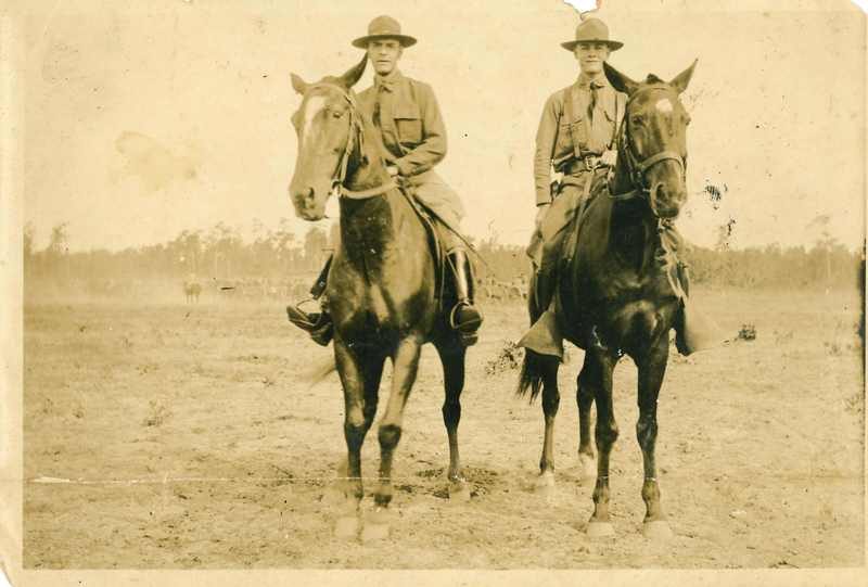 Members of 108th Cavalry, 1920s