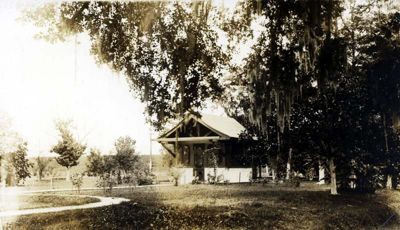 Small house built by the State of Louisiana for the Daughters of Charity at the LA Leper Home.&lt;br /&gt;<br />