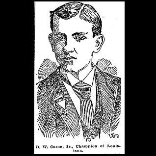 Ben Cason, 1891 State Champion