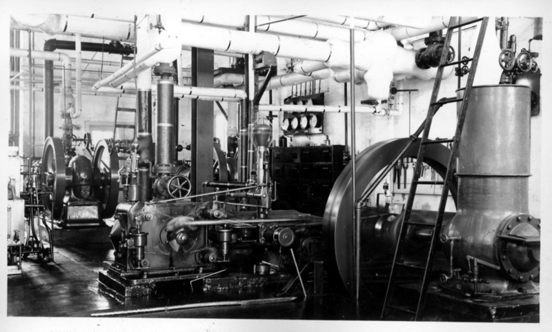 Interior of the Power Plant: National Leprosarium. Image Courtesy of the National Hansen's Disease Museum, Permanent Collection. Carville, LA.