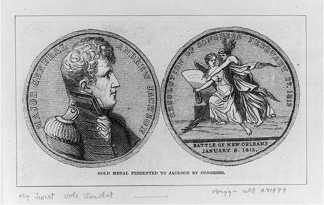 Congressional Medal, 1815