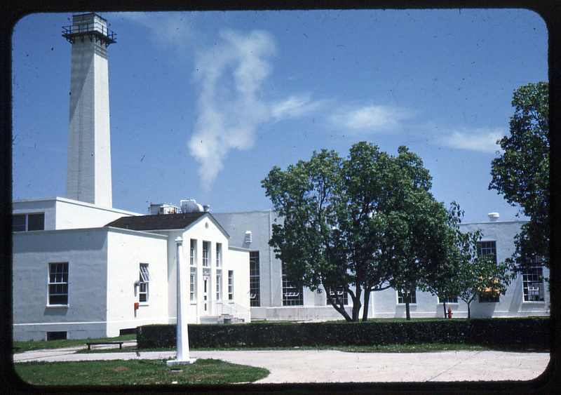 Power Plant, National Leprosarium, Carville, Louisiana. Image Courtesy of the National Hansen's Disease Museum, Permanent Collection. Carville, LA.
