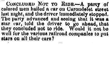 Concluded Not To Ride