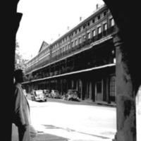 Upper Pontalba Building, 1937.