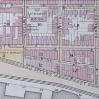 Map of Gallatin Street, 1883