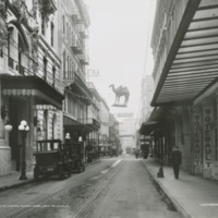 View Down Royal Street Towards Canal