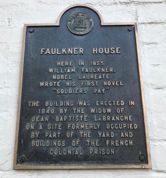 Faulkner House Historical Marker